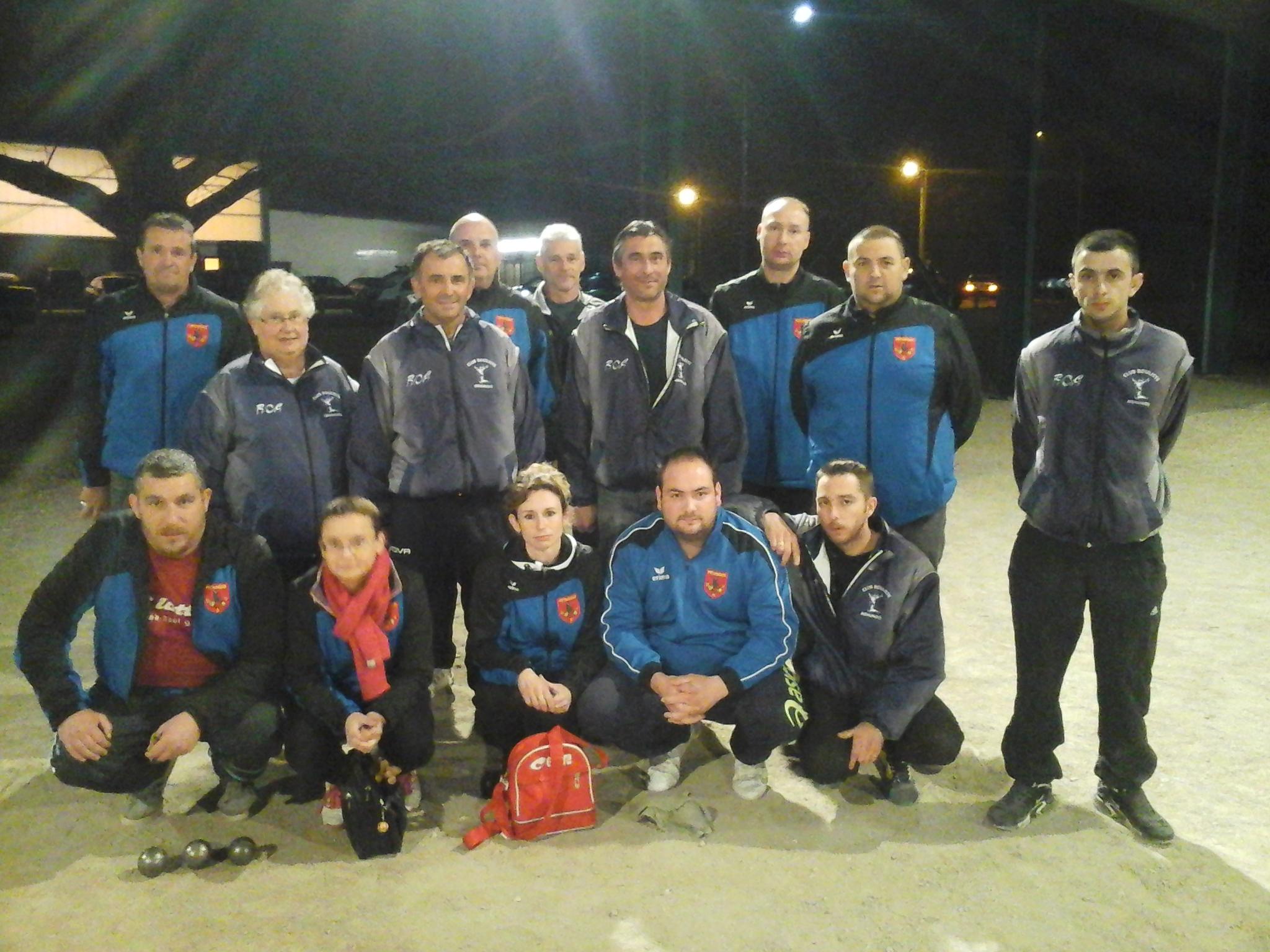 Coupe de france : USF Pétanque bat CB Mehunois : 16 à 10.