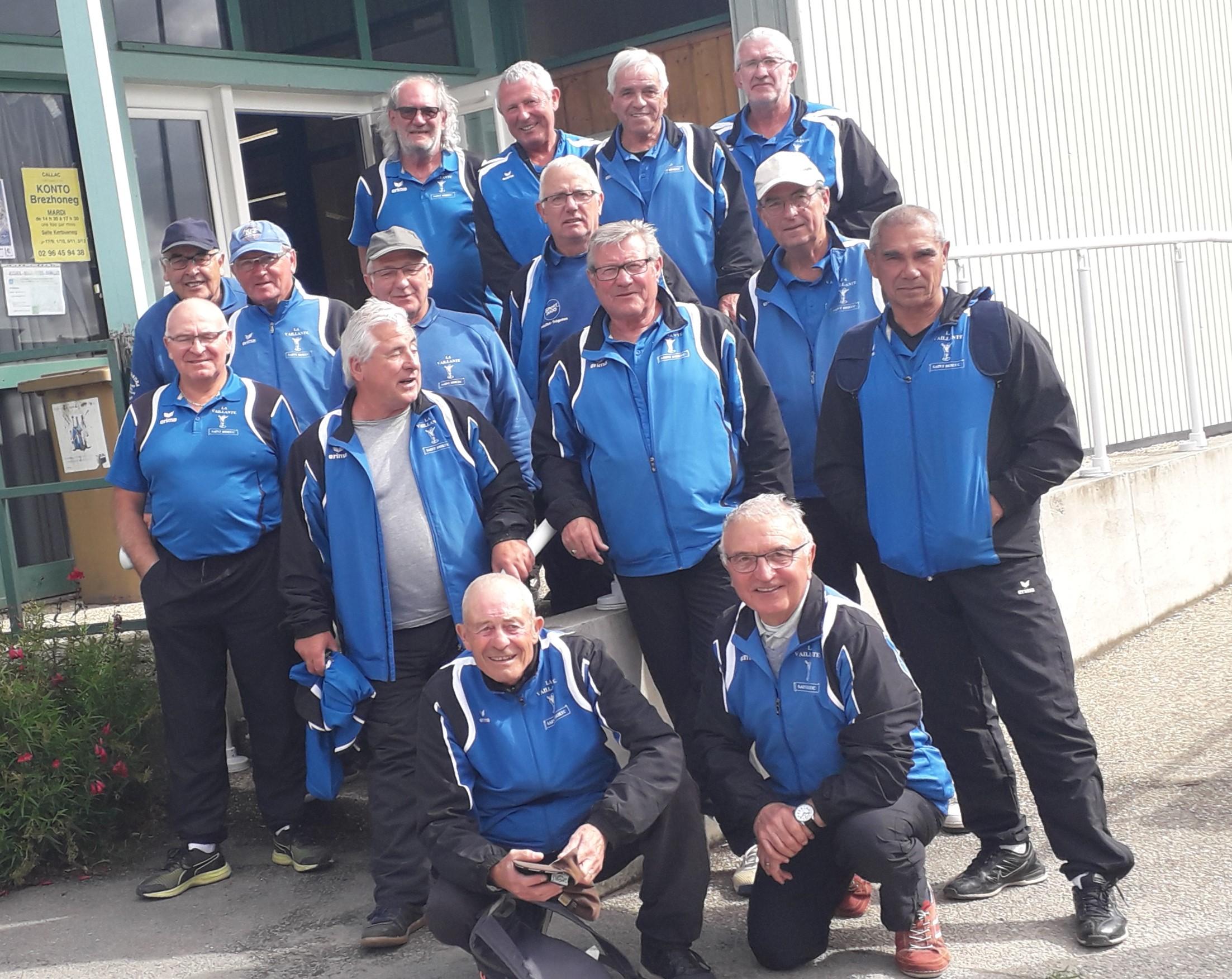 championnat départemental doublette vétérans à Callac
