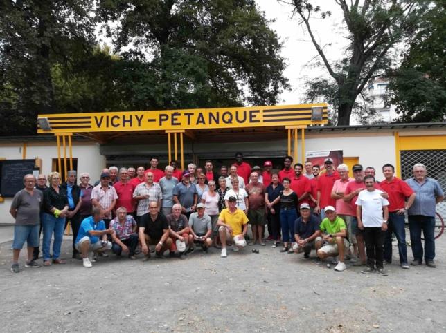 LA JAVCM  AU CLOS DE VICHY PETANQUE
