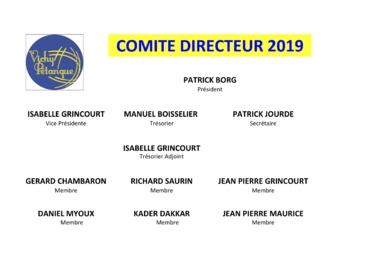 COMITE DIRECTEUR 2019