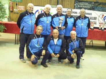 CHAMPIONNAT DES CLUBS VETERANS 1ERE DIVISION