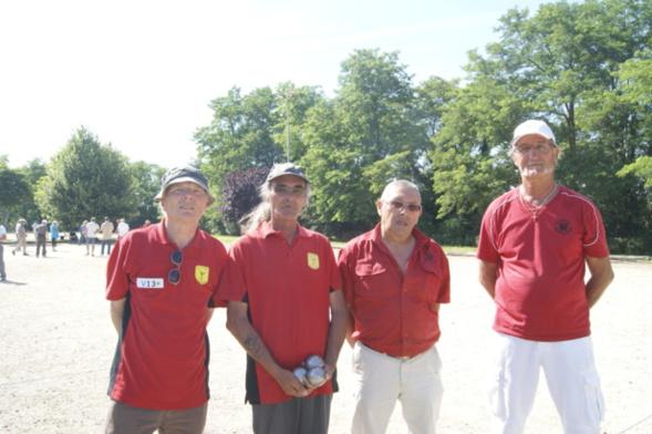 Championnat doublette vétérans